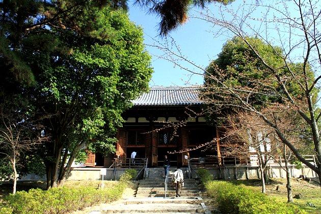 法隆寺上御堂(※写真は2010年3月の徳辺鬱公開時)