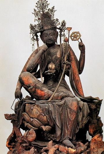 醍醐寺 仏像棟安置の如意輪観音像